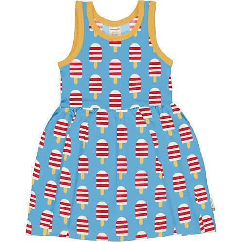 Maxomorra Ice Cream Sleeveless Spin Dress