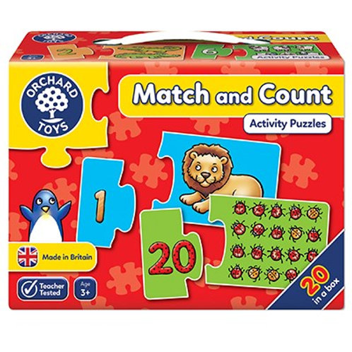 Match & Count Jigsaw Puzzle Orchard Toys