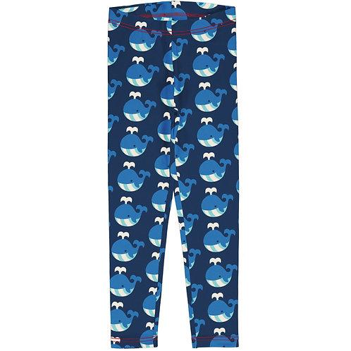 Maxomorra Whale Leggings