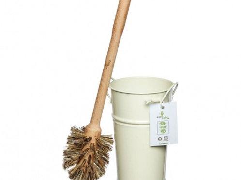 Plastic Free Toilet Brush & Holder Set