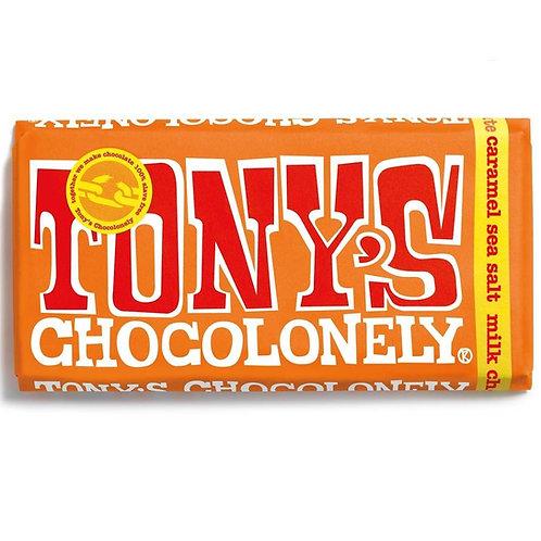 Tonys Chocoloney : Milk Caramel Sea Salt
