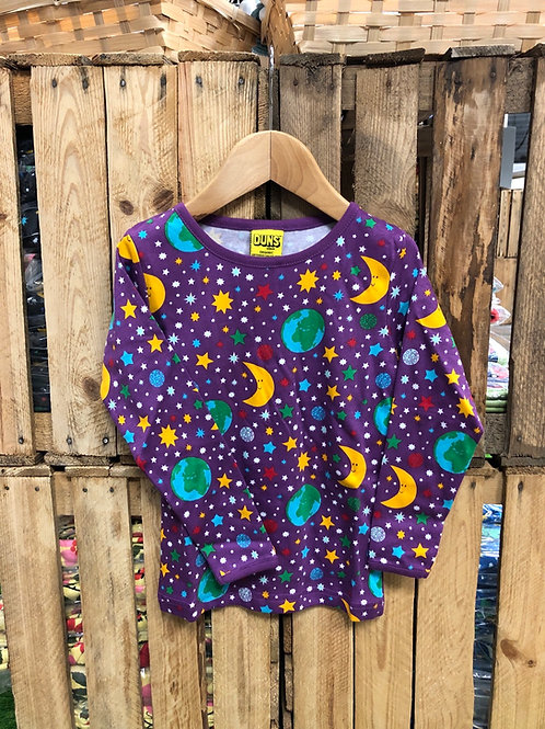 Duns Mother Earth Violet Long Sleeved top