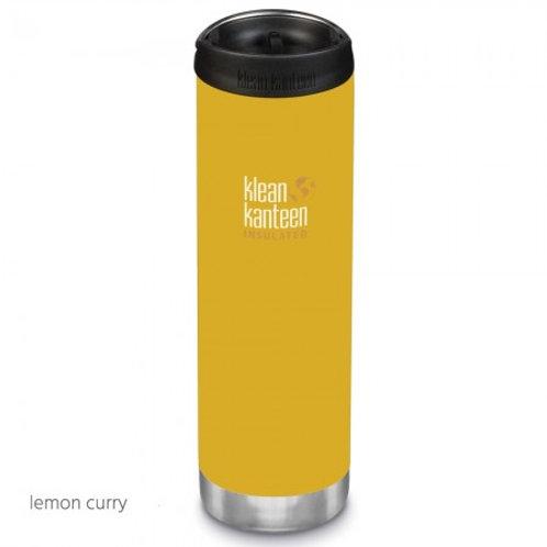 Klean Kanteen Insulated TKWide 20oz (592ml) Lemon Curry