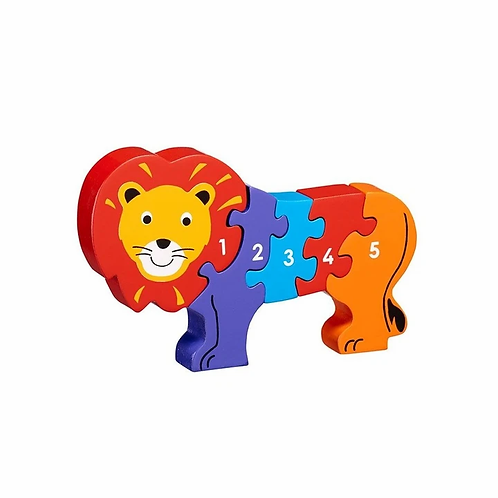 Lanka Kade Colourful Lion 1-5 Jigsaw
