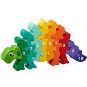 Lanka Kade  Dinosaur 1-10 Jigsaw