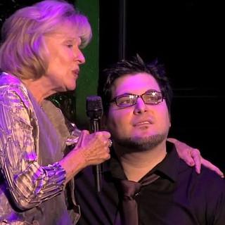 Tim performing with Broadway legend Joy