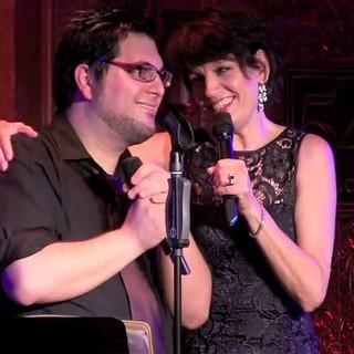Tim performing with Tony Award winner Beth Leavel