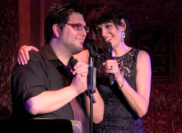 Tim performing with Tony Award winner Beth Leavel