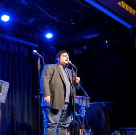 Tim in concert - Triad Theater April 2019.