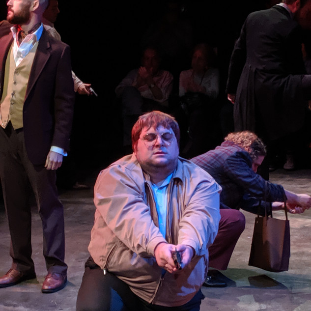 Tim in Assassins at The Secret Theater.j