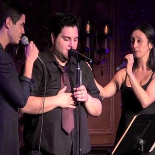 Tim with Jason Gotay and Natascia Diaz.j