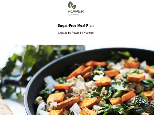 7-Day Sugar-Free Meal Plan