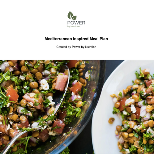7-Day Mediterranean-Inspired Meal Plan