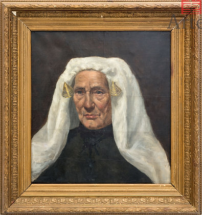 Pintura de Mujer de edad adulta