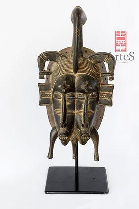 Máscara tradicional de la etnia Senufo
