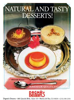 Dagma´s Desserts Banner
