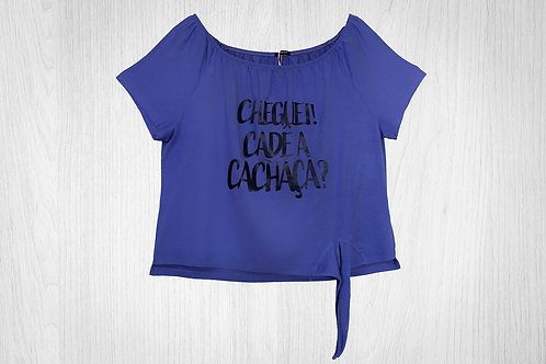 Blusa Crooped Ombro A Ombro