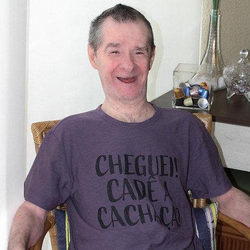 T-shirt Masculina Texturizada