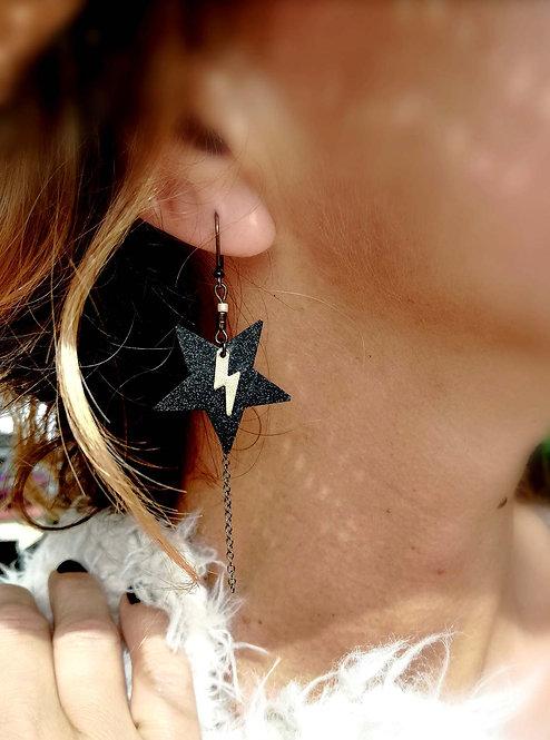 LIGHTEE - Boucles d'oreilles Etoile