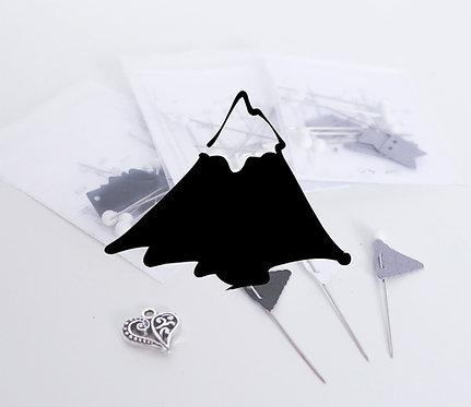 MOUNTAIN BUNDLE - Handmade Flag Pin Sets - For Traveler Maps