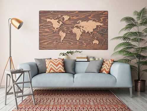 "WHOLESALE Push Pin Travel Map - Provincial - 48"" x 27"""