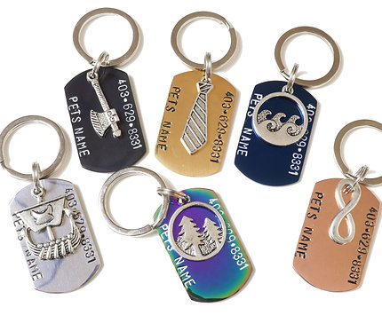 Build Your Own - Military Dog Tag