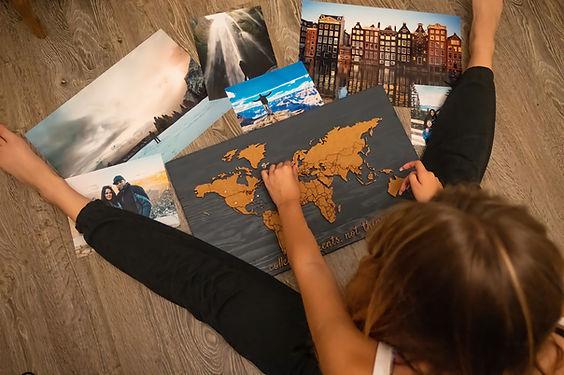 push pin travel map ambassador