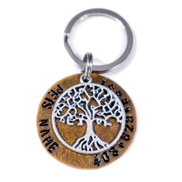 Tree Of Life Pet Tag