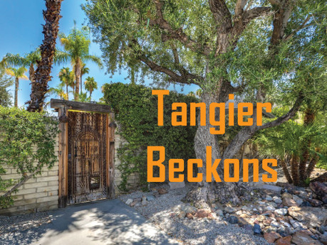 """""""Tangier Beckons"""" 