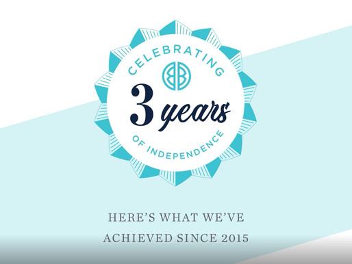 HAPPY 3-YEAR BIRTHDAY BDH!