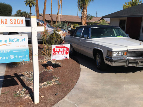 First day of the estate sale..
