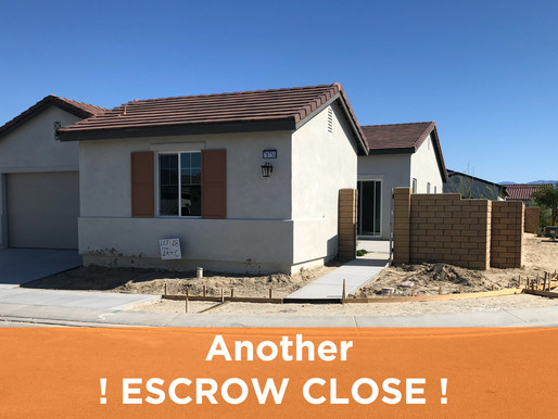 Another Escrow Close 👍