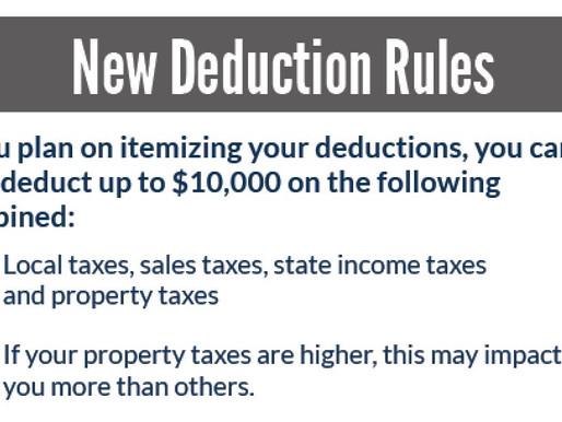 B E W A R E 💲 Tax Law Changes