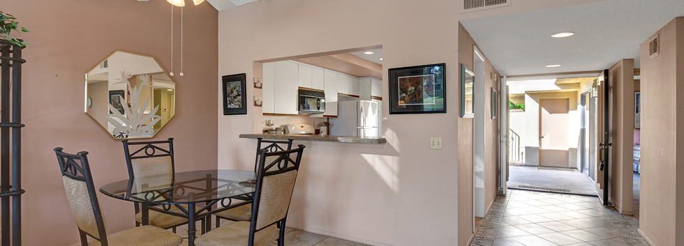 Dining Area to Foyer