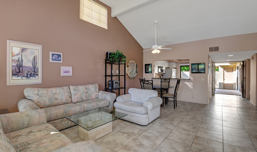 Living Area to Foyer