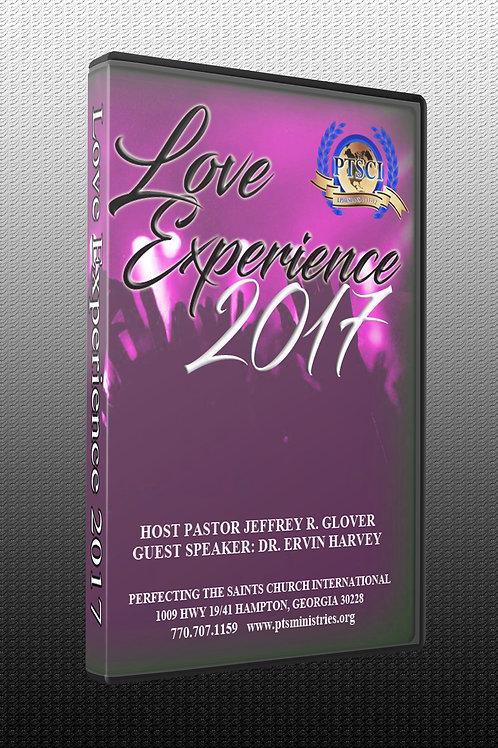 LOVE EXPERIENCE 2017 (3 DVD's)