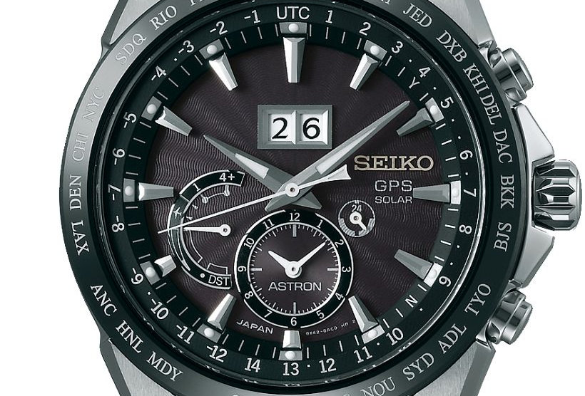 Seiko Astron GPS Solar Horloge Zwart SS149J1