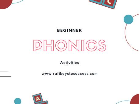 Phonics Beginner Activities