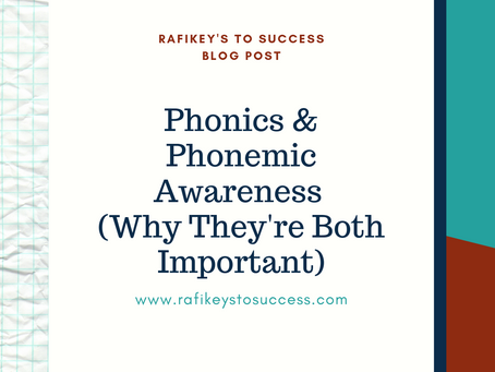 Phonics & Phonemic Awareness (Why They're Both Important)