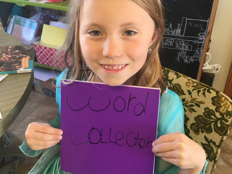 """Be a """"Word Collector"""""""