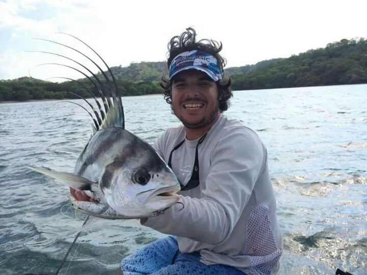 Estaban with Rooster Fish
