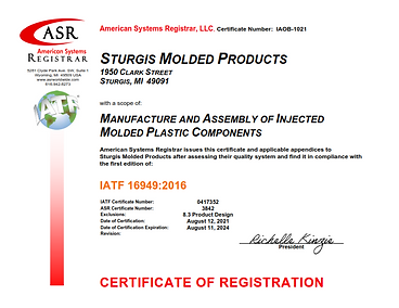 Sturgis Molded Products IATF Certificate Aug 2021signed_001.png