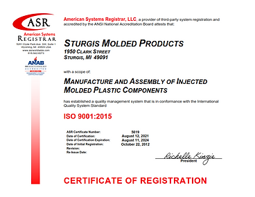 Sturgis Molded Products ISO 9001 Certificate Aug 2021signed_001.png