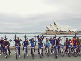 Media Guided Tour for Destination New South Wales - Sydney Bike Tours