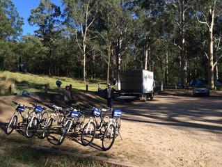 Euroka Campground | Blue Mountains | Mountain Bikes