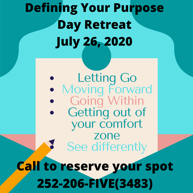 Defining Your Purpose Day Retreat