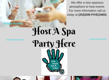 Host A Spa Party Here