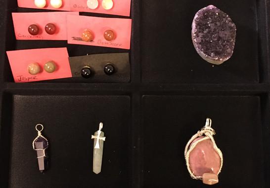 Earrings, Pendants, and more