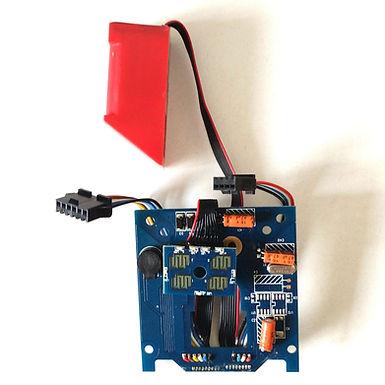 Tarjeta electrónica master con lector de huellas para cerradura E7F4
