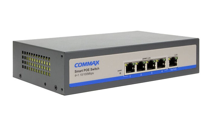 Switch POE de 4 puertos Commax CIOT-H4L2
